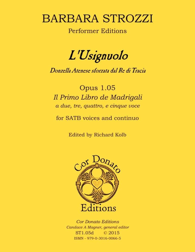 Cover of L'Usignuolo
