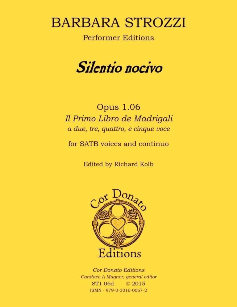 Cover of Silentio Nocivo
