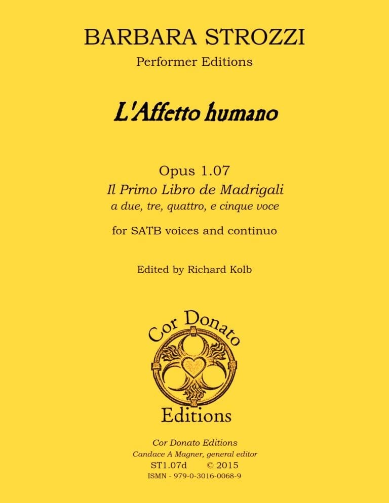 Cover of L'Affetto Humano