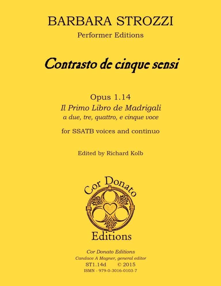 Cover of Contrasto de Cinque Sensi