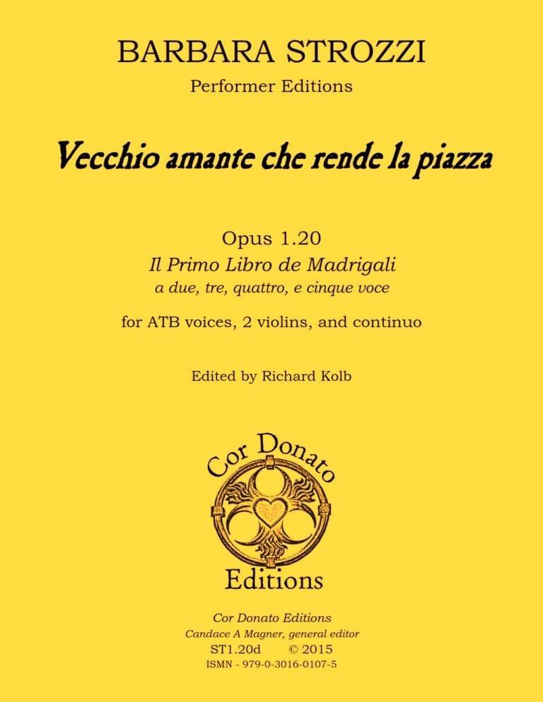 Cover of Vecchio Amante Che Rende La Piazza