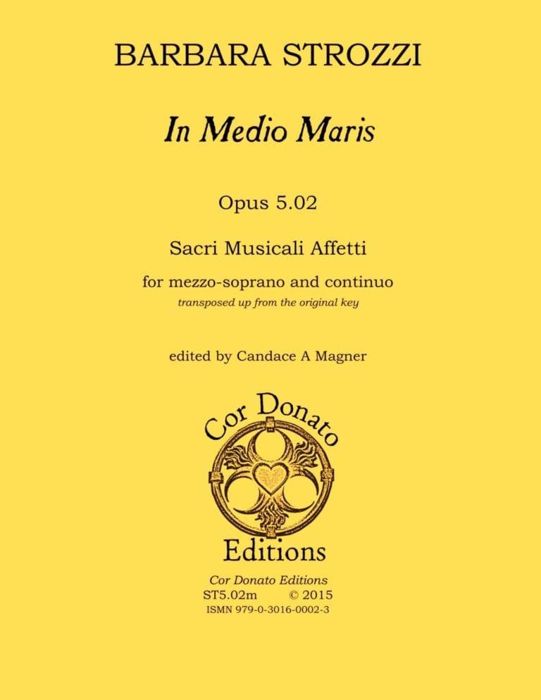 Cover of In Medio Maris