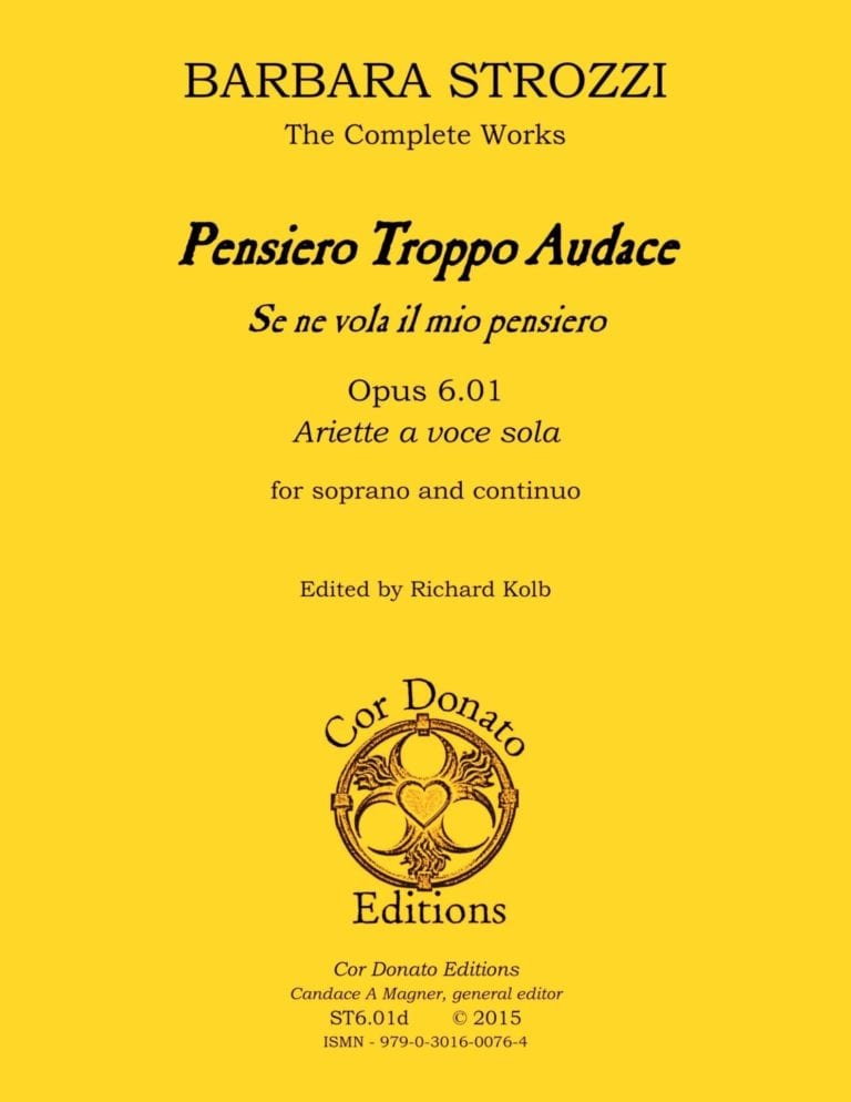 Cover of Pensiero Troppo Audace