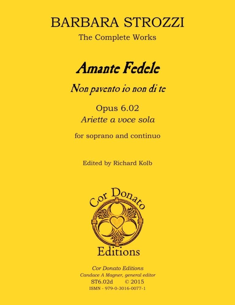 Cover of Amante Fedele