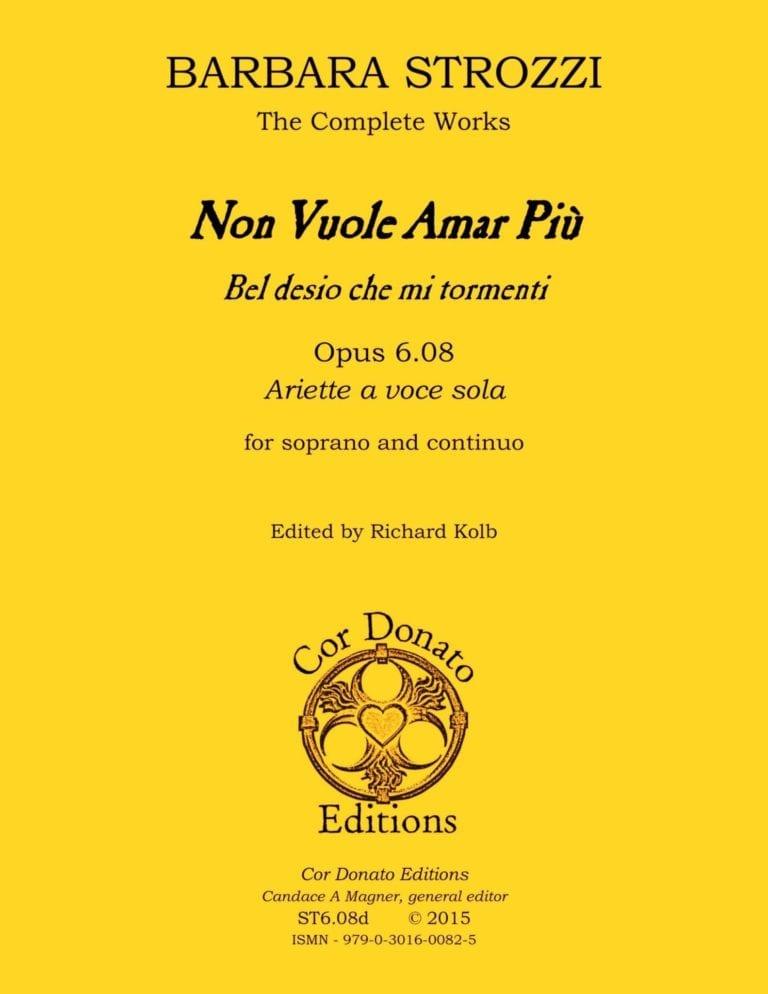 Cover of Non Vuole Amar Più