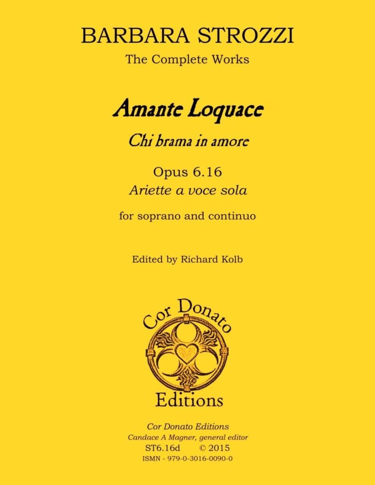 Cover of Amante Loquace