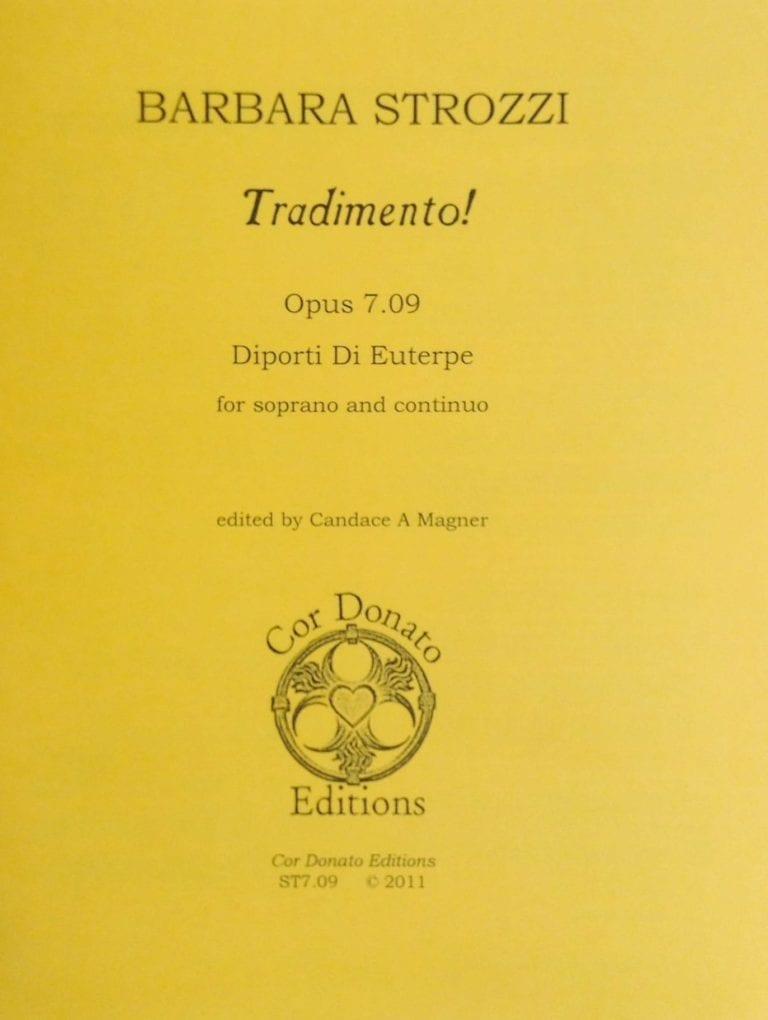 Cover of Tradimento!