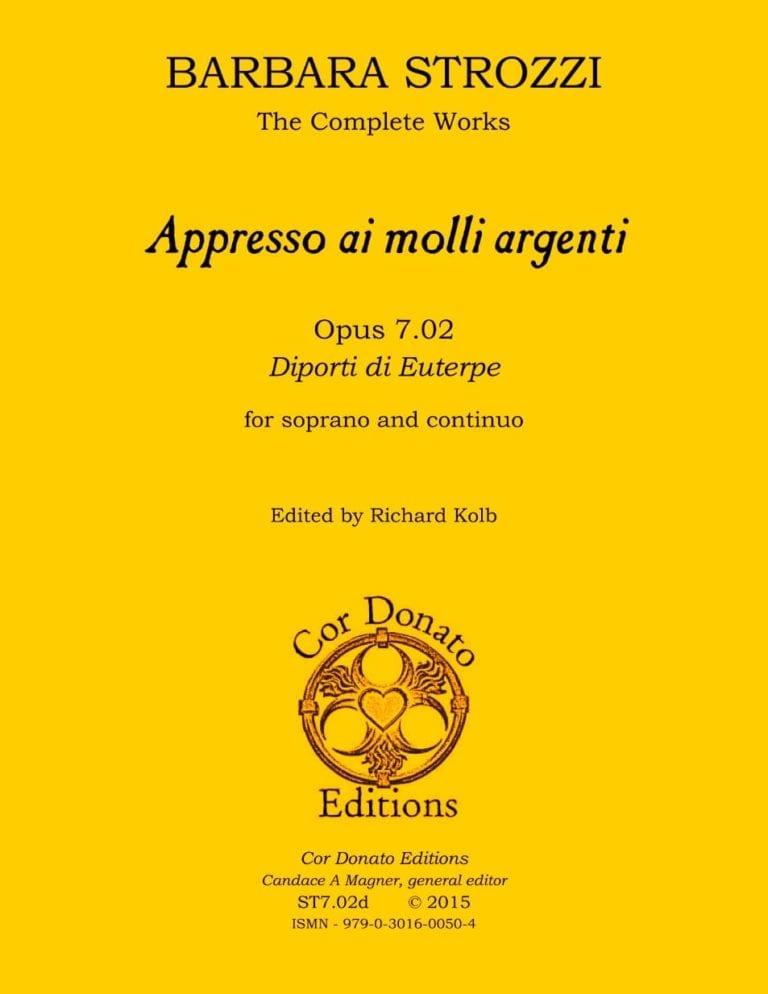 Cover of Appresso ai molli argenti