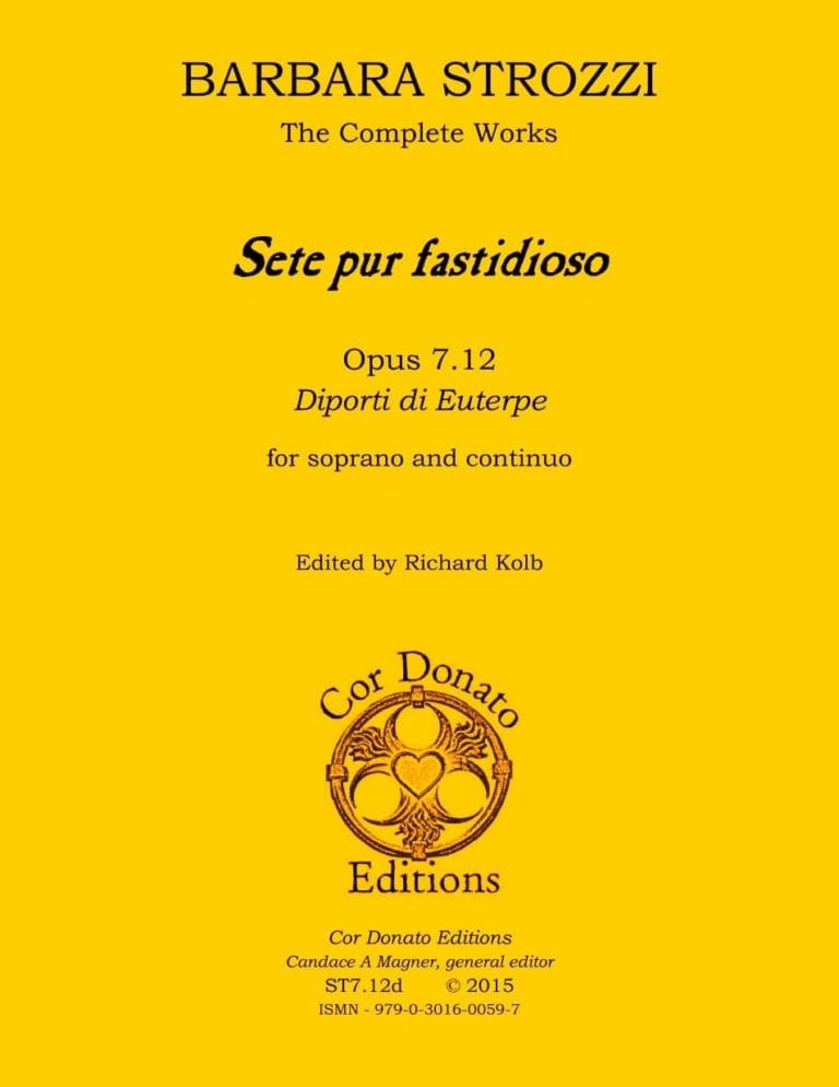 Cover of Sete pur fastidioso