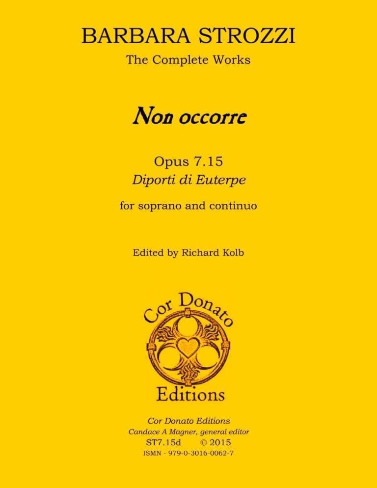 Cover of Non occorre