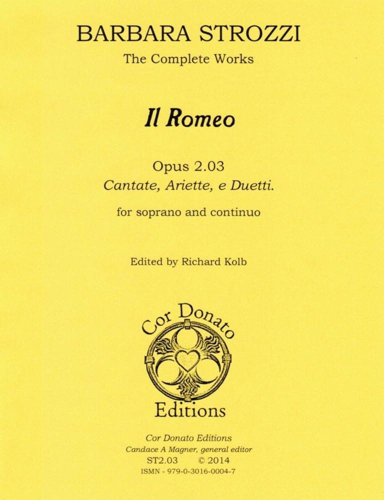 Cover of Il Romeo
