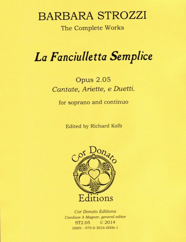 Cover of La Fanciulletta Semplice