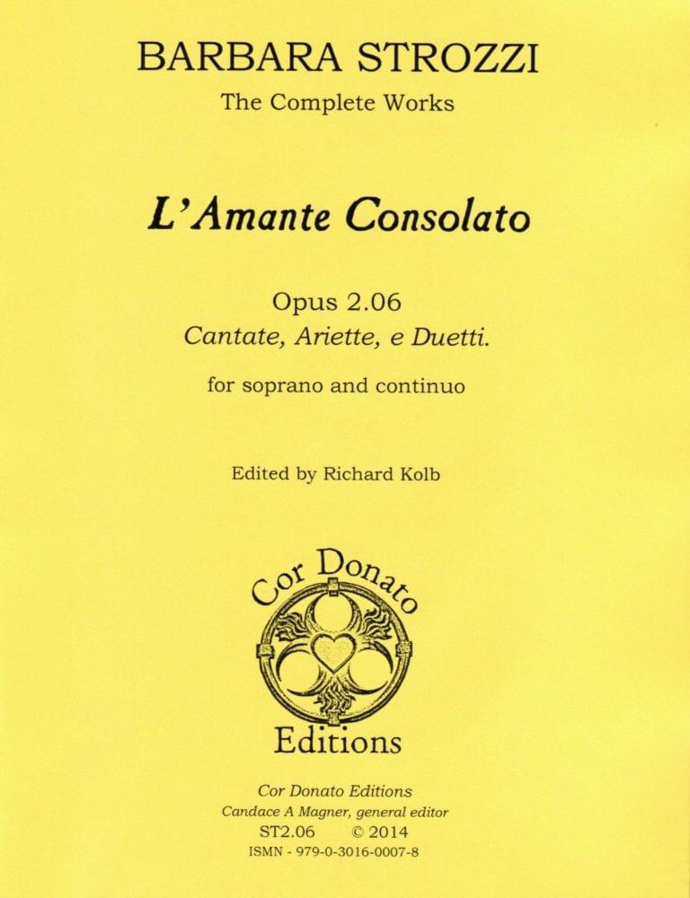 Cover of l'Amante Consolato