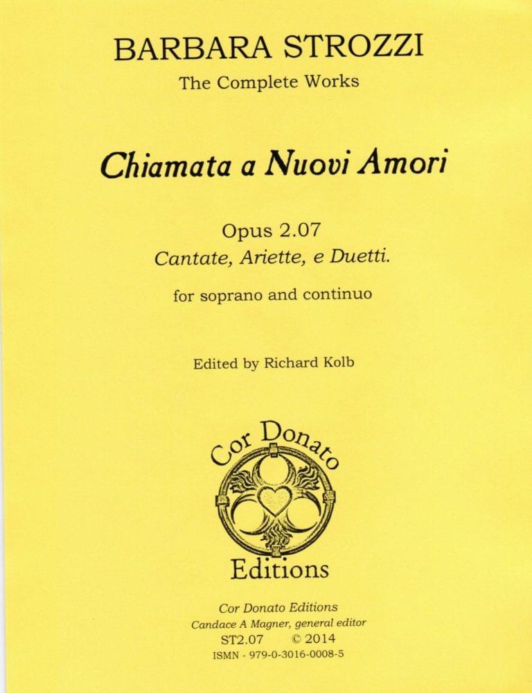 Cover of Chiamata a Nuovi Amori