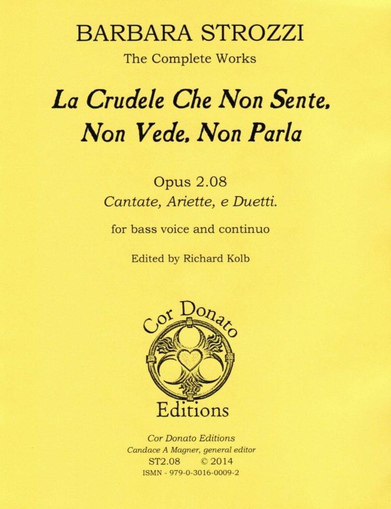 Cover of La Crudele, Che Non Sente, Non Vede, Non Parla