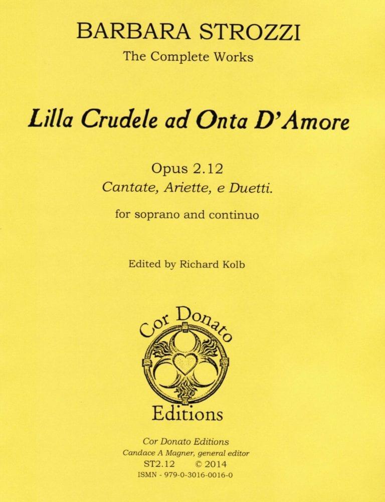 Cover of Lilla Crudele ad Onta d'Amore