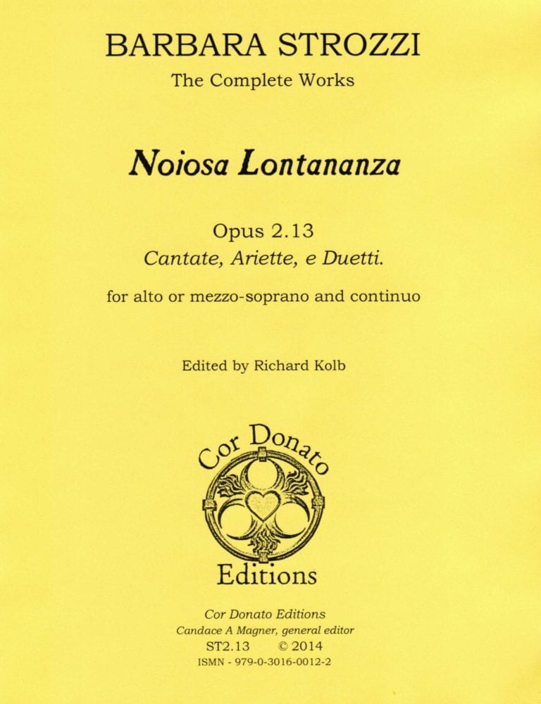 Cover of Noiosa Lontananza