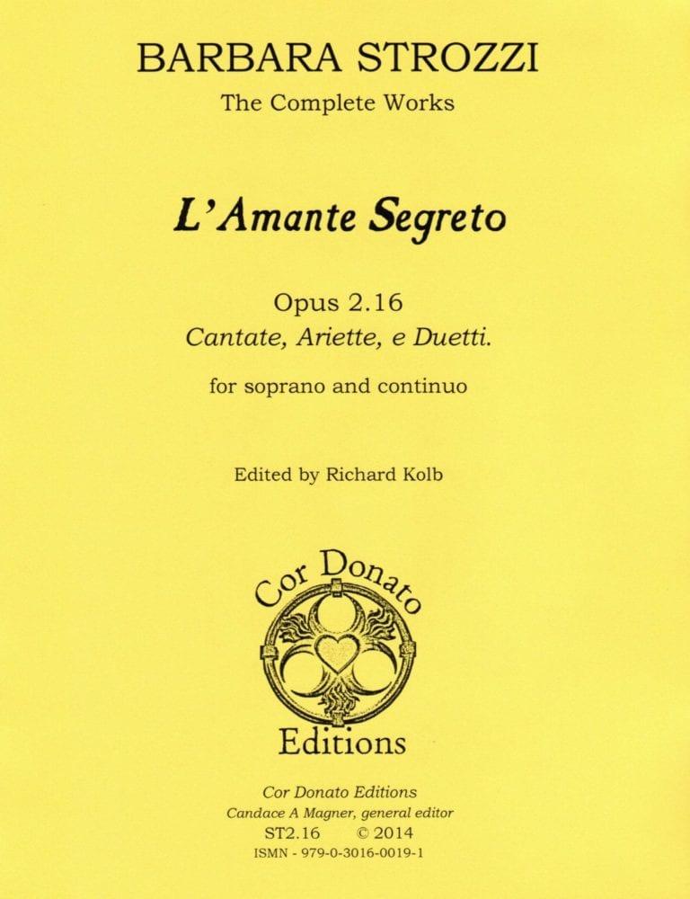 Cover of l'Amante Segreto