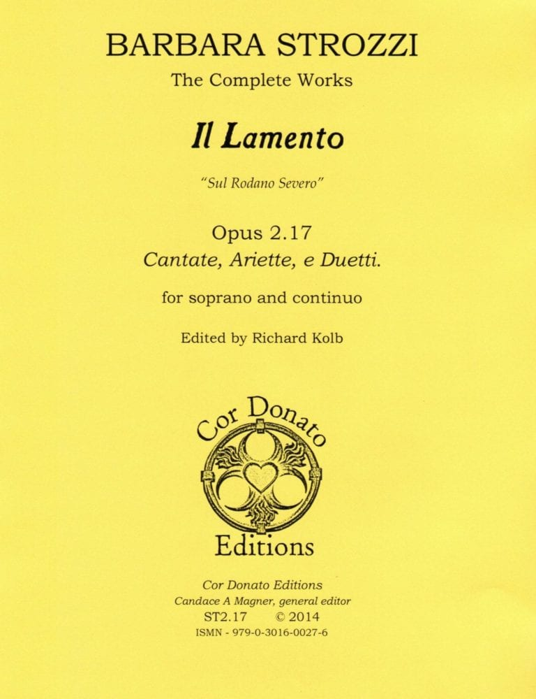 Cover of Il Lamento