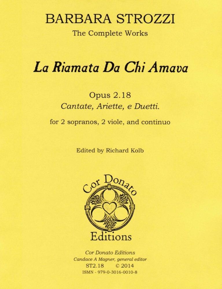Cover of La Riamata Da Chi Amava