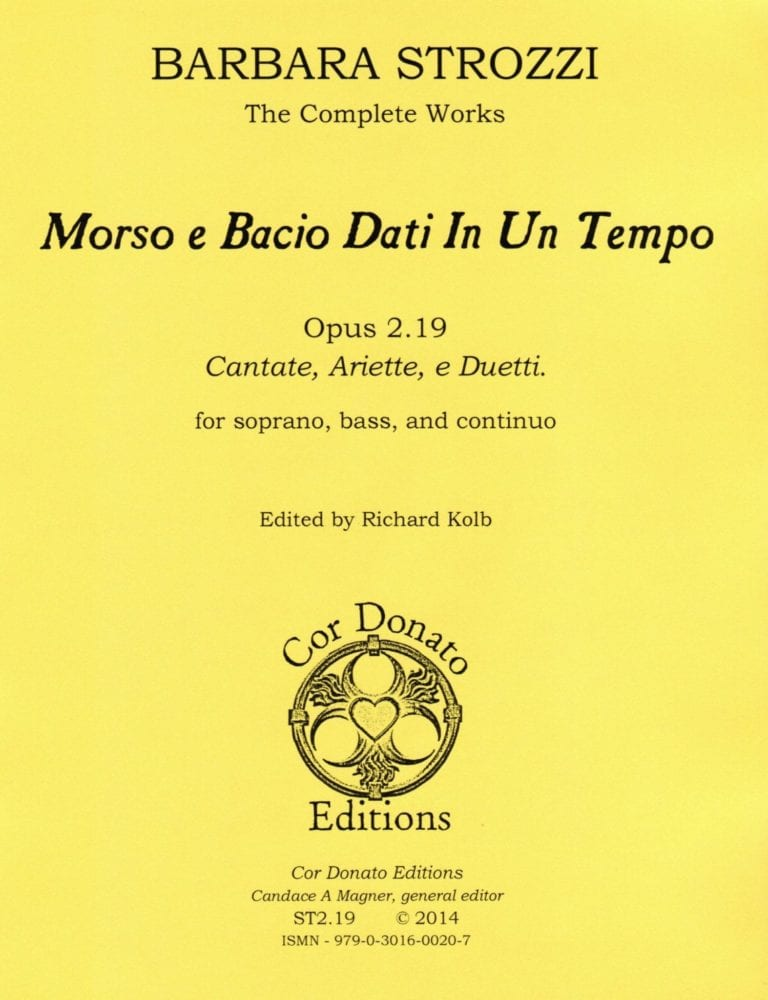 Cover of Morso, e Bacio Dati In Un Tempo