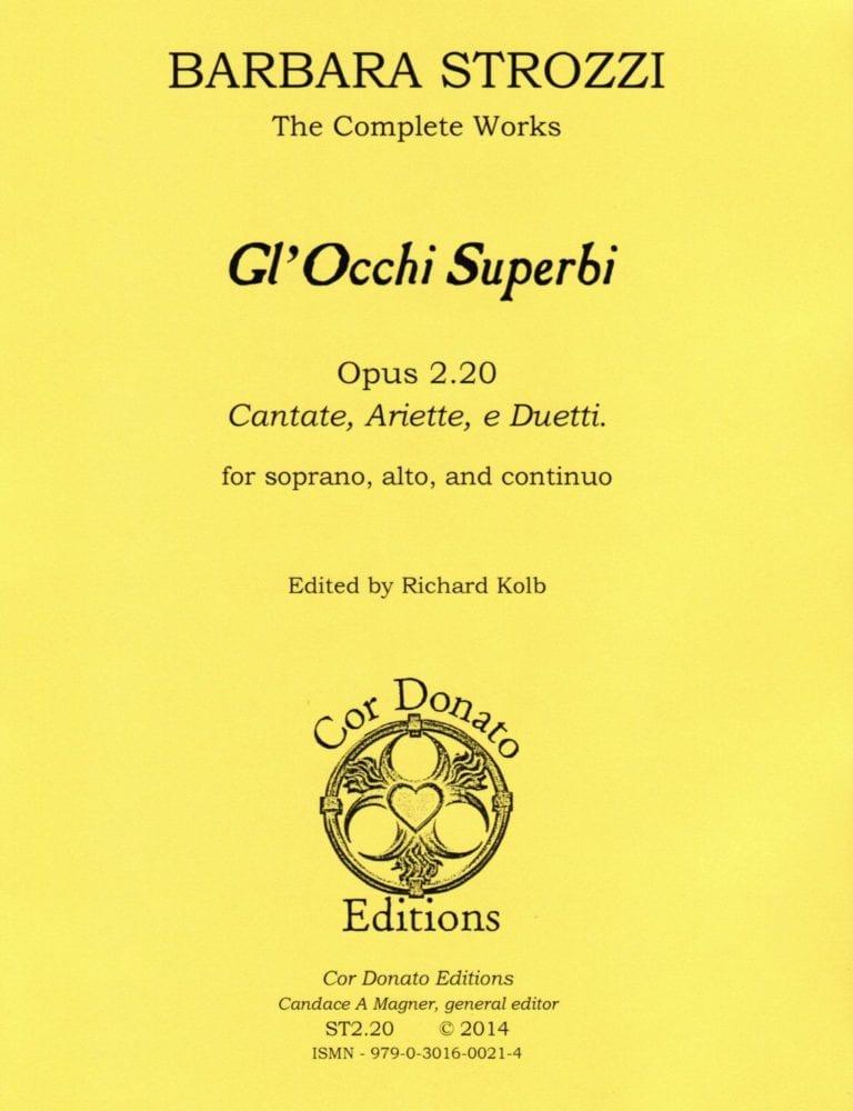 Cover of Gl'Occhi Superbi