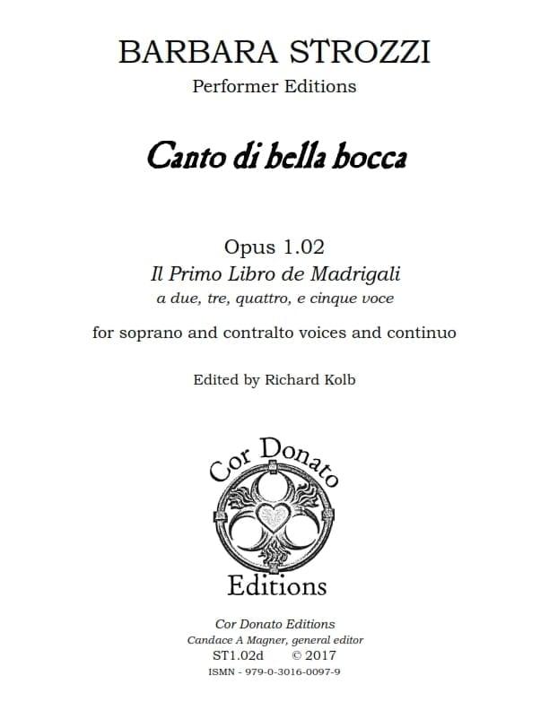 Cover of Canto di Bella Bocca