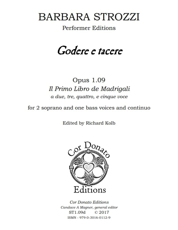 Cover of Godere e Tacere