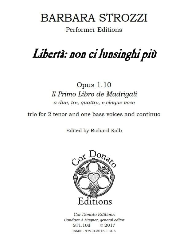 Cover of Libertà
