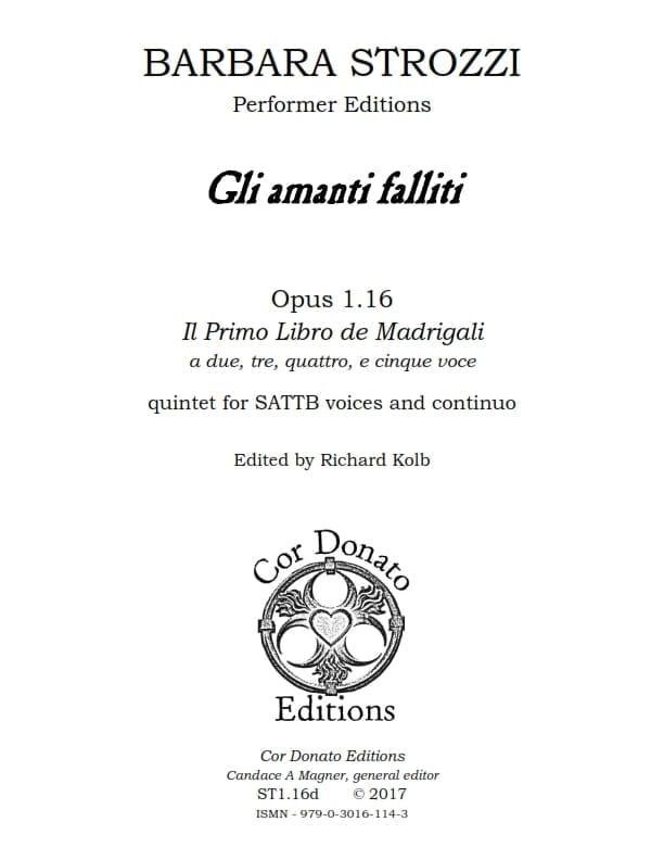 Cover of Gli Amanti Falliti