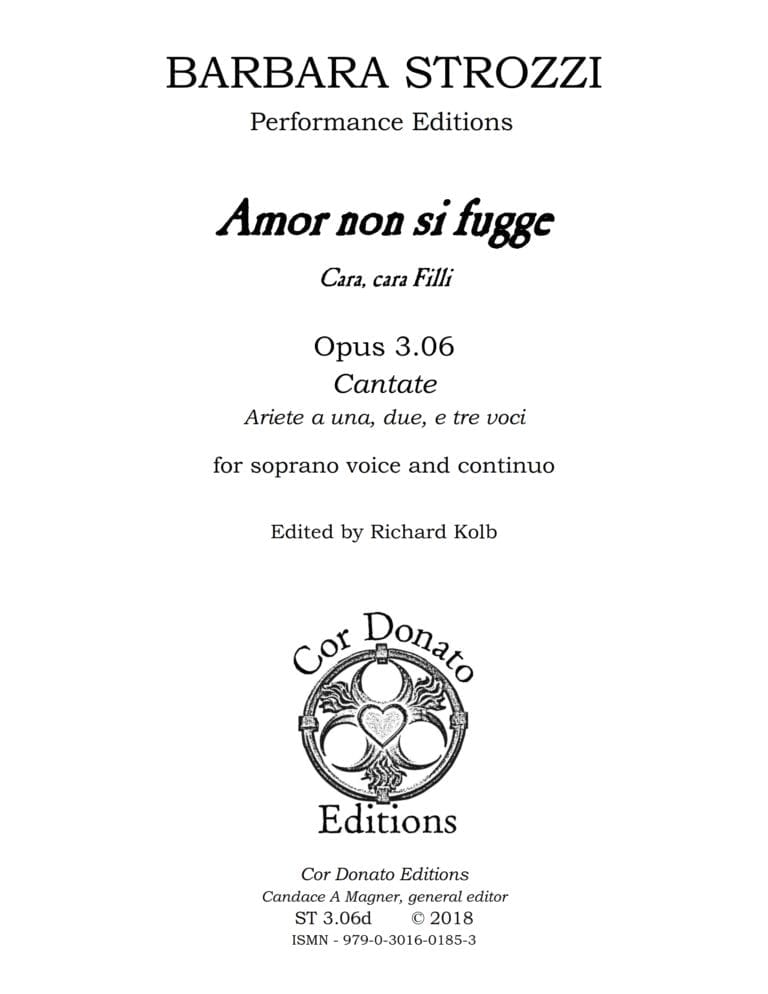 Cover of Amor Non Si Fugge