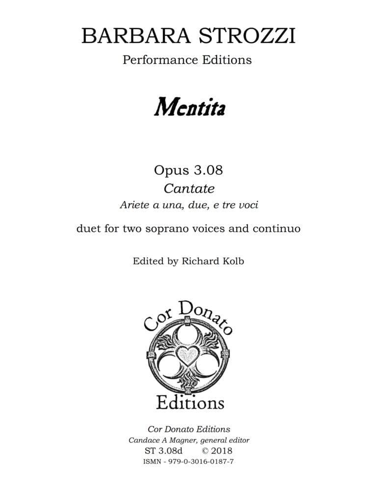 Cover of Mentita