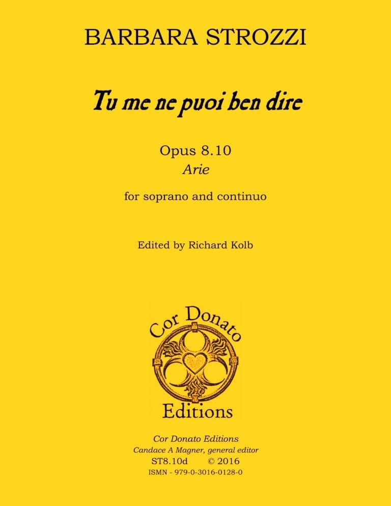 Cover of Tu me ne puoi ben dire