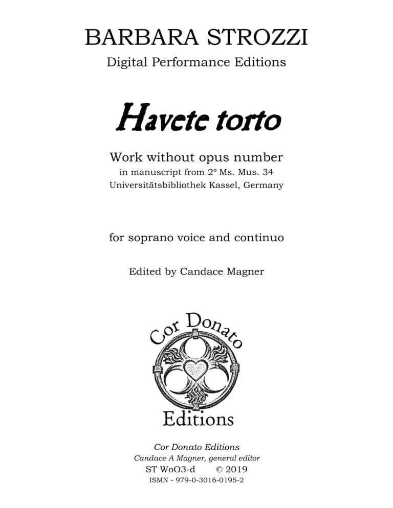 Cover of Havete Torto