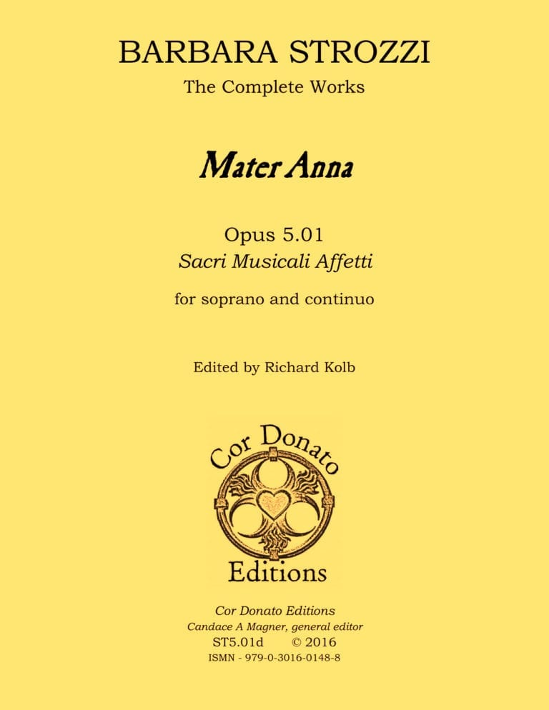 Cover of Mater Anna