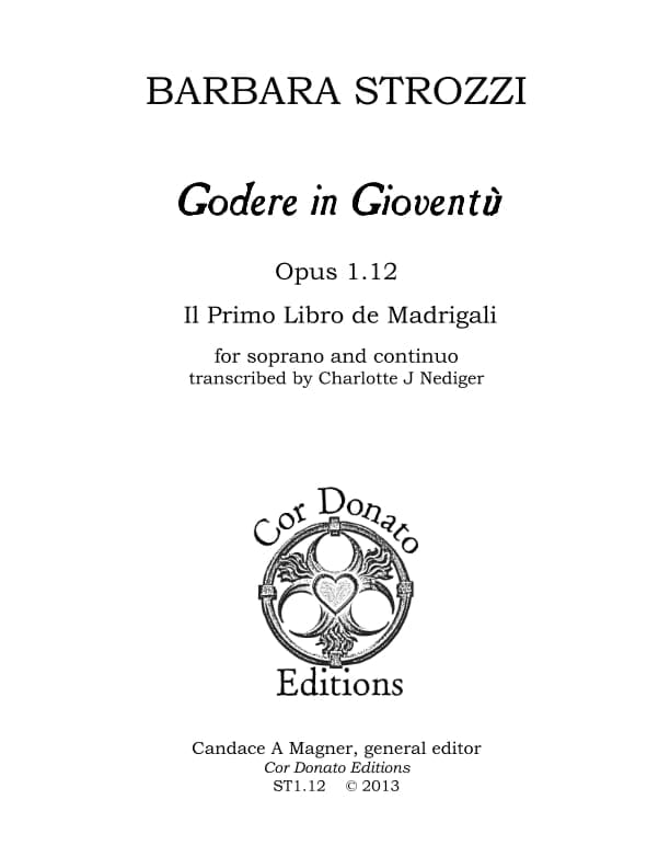 Cover of Godere in Gioventù